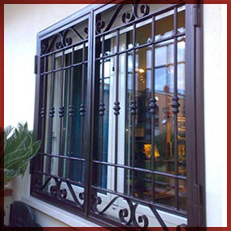 Carpenteria metallica carpi correggio cancelli - Prezzo inferriate finestre ...